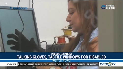 Talking Gloves and Tactile Windows Provide Help for the Disabled