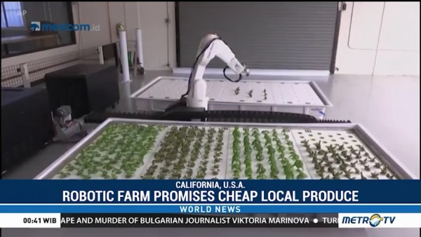 Robotic Farm Promises Cheap Local Produce