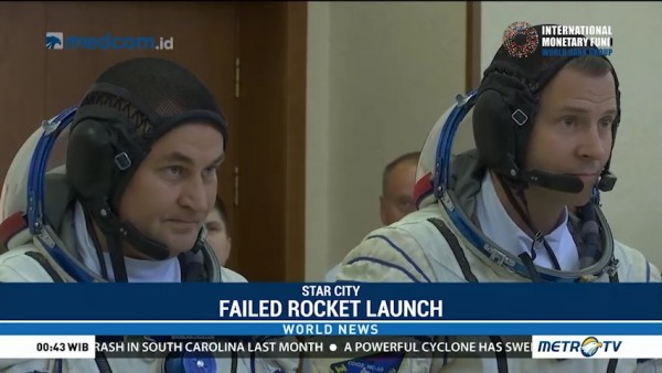 Astronauts Make Emergency Landing After Rocket Failure