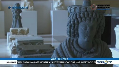 Artifacts Recovered From Rebel Held Areas