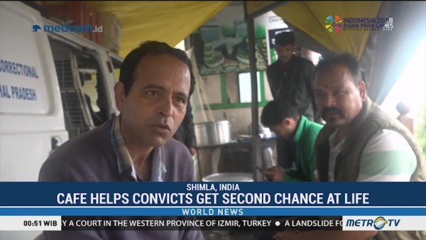 Cafe Helps Convicts Get Second Chance at Life