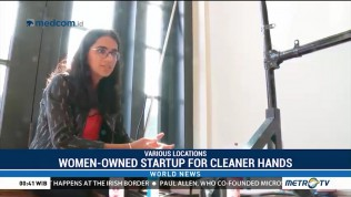 Women-Owned Startup for Cleaner Hands
