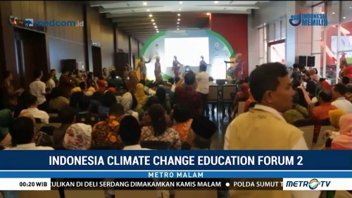 Kementerian LHK kembali Gelar Indonesia Climate Change Education Forum