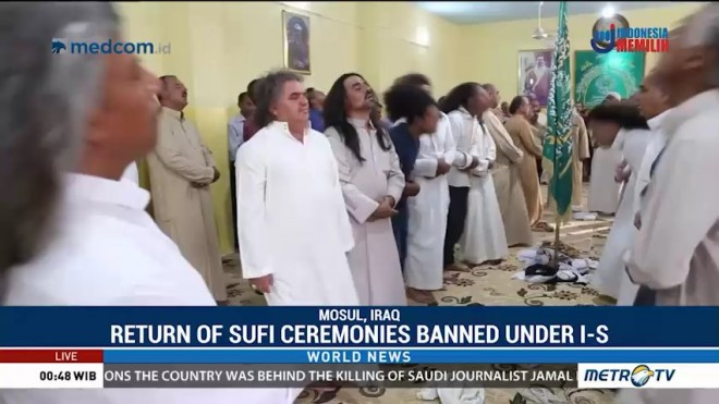 Return of Sufi Ceremonies Banned Under IS