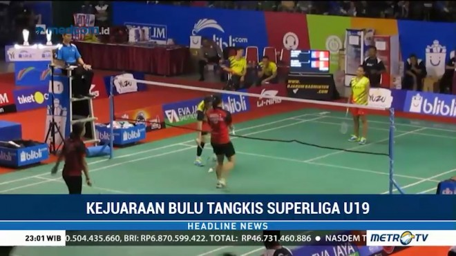 PB Exist Juara Superliga Junior U-19