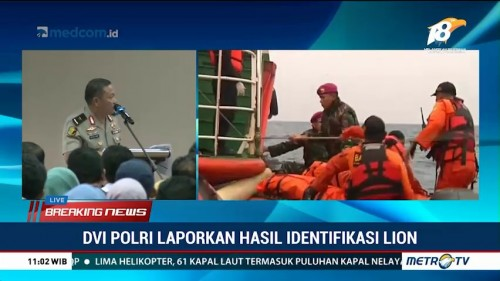 189 Data Antemortem Korban Lion Air Terverifikasi