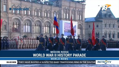 World War II History Parade