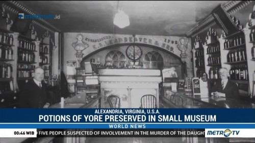 Potions of Yore Preserved in Small US Museum