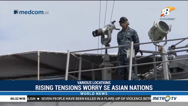 Rising Tensions Worry SE Asian Nations