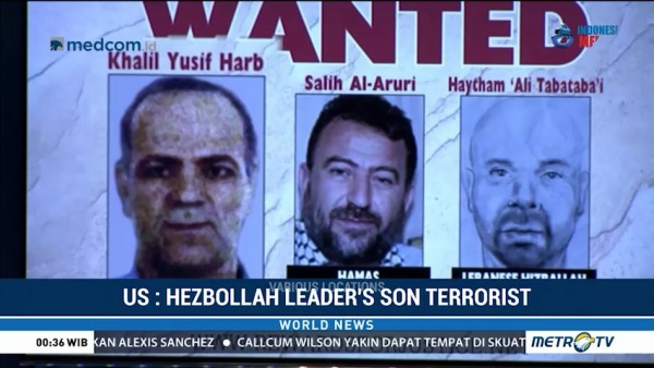 US Designates Hezbollah Leader's Son as Terrorist