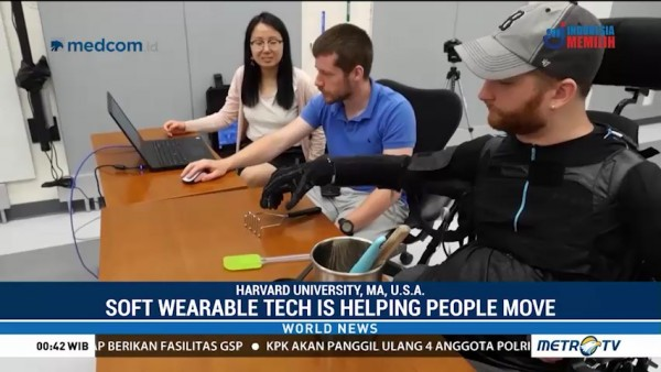Soft Wearable Tech is Helping People Move