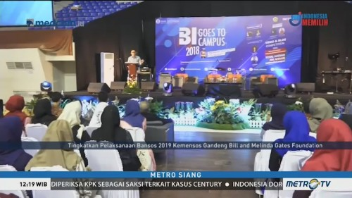 BI Goes to Campus 2018 Disambut Meriah di Palembang