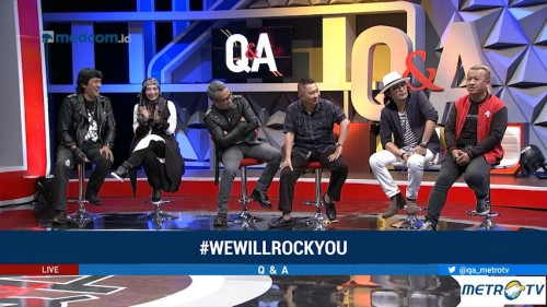 Highlight Q & A - We Will Rock You