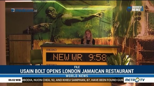 Usain Bolt Opens London Jamaican Restaurant