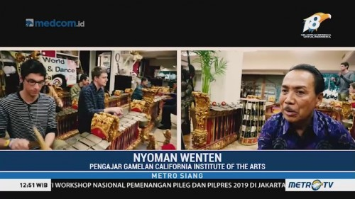 Ada Kelas Gamelan di California Institute of Arts