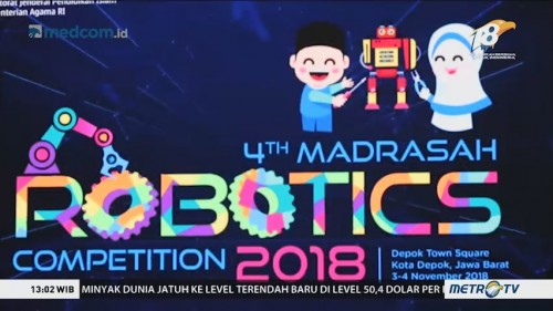 Grand Final Kompetisi Robotik Madrasah 2018 (1)