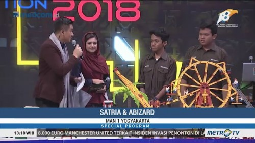 Grand Final Kompetisi Robotik Madrasah 2018 (2)