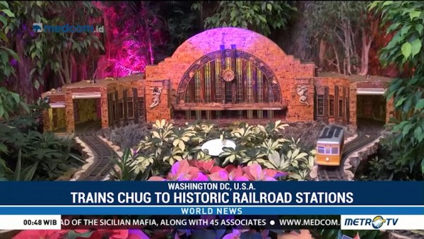 Trains Chug to Historic Railroad Stations
