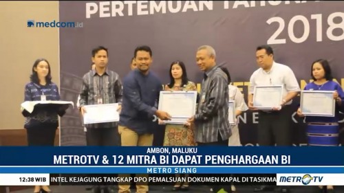 Metro TV Terima BI Award