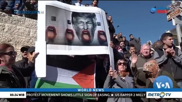 Jerusalem Embassy Stokes New Anger