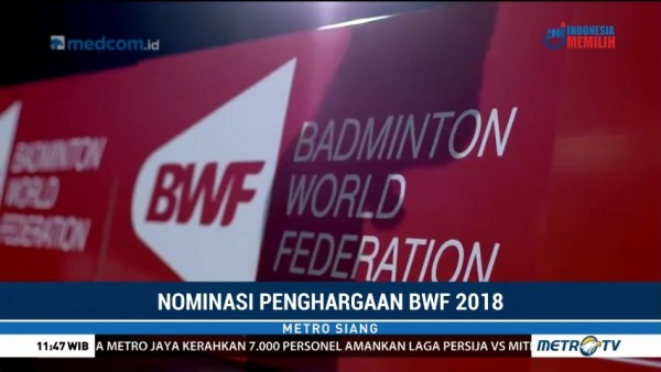 Nominasi BWF Player of the Year 2018