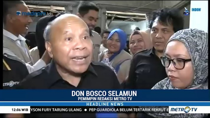 Media Group Salurkan Bantuan Pendidikan & Huntara ke Sulteng