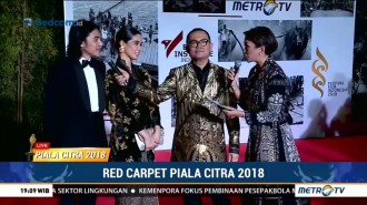 Red Carpet Piala Citra 2018