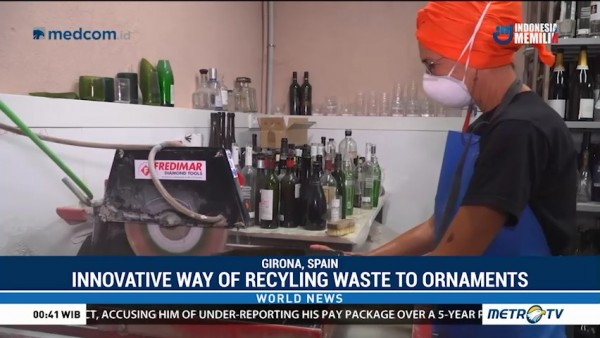 Innovative Way of Recyling Waste to Ornaments