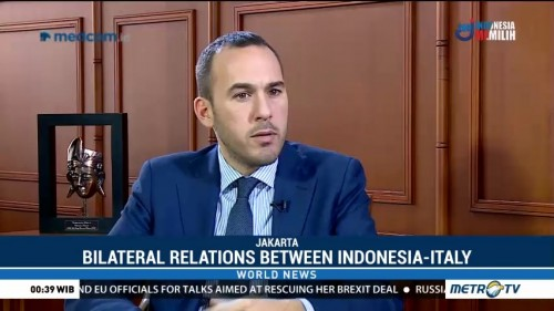 Bilateral Relations Between Indonesia-Italy