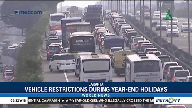 Vehicle Restrictions During Year-End Holidays