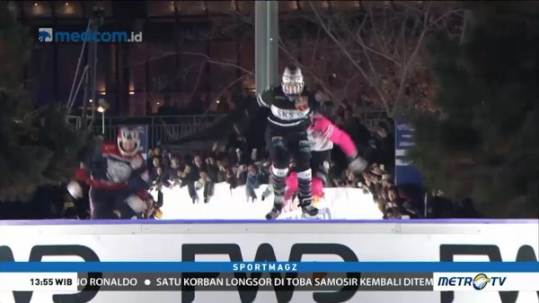 Cameron Naasz Juarai Red Bull Crashed Ice Yokohama 2018