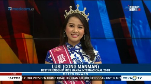 Indonesia Raih Kemenangan di Miss Hakka International 2018 (2)
