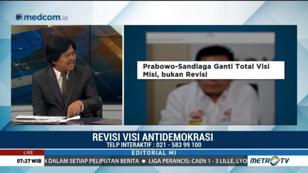 Bedah Editorial MI: Revisi Visi Antidemokrasi