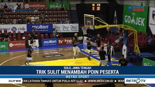 Jelang Slam Dunk Contest IBL All Stars