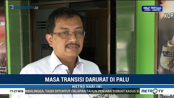 Masa Transisi, BNPB: Kebutuhan Korban Bencana Palu Terpenuhi