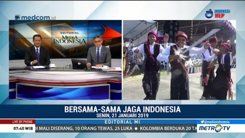 Bedah Editorial MI: Bersama-sama Jaga Indonesia