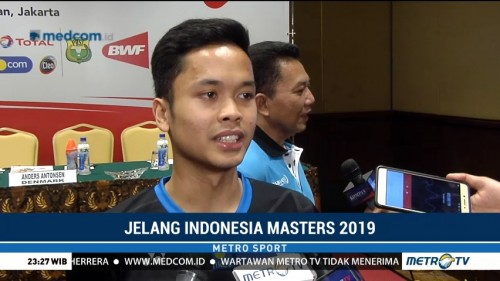 Jelang Indonesia Masters 2019