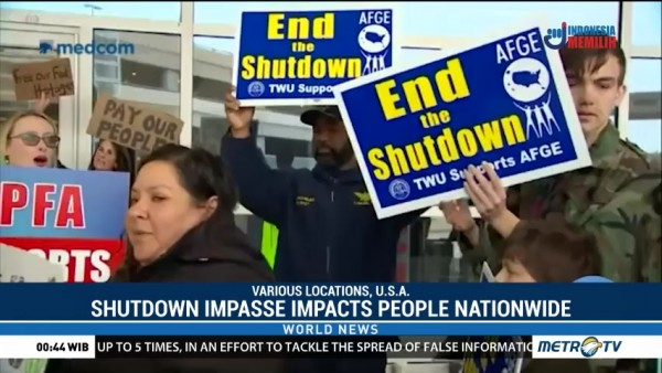 Shutdown Impasse Impacts People Nationwide