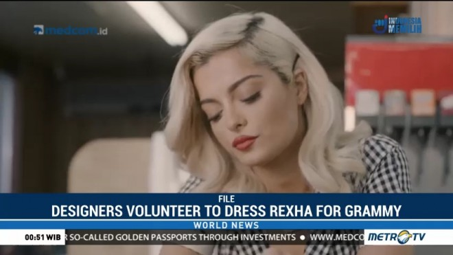 Designers Volunteer to Dress Rexha for Grammy