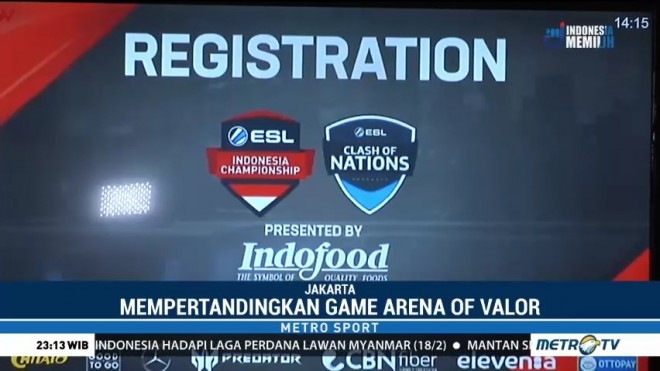 Jelang ESL Clash of Nation 2019