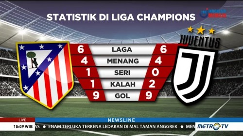 Preview Atletico vs Juventus: Menanti Faktor