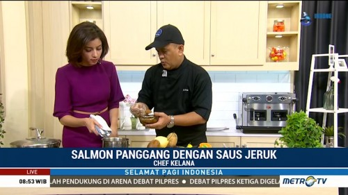 Cooking with Chef Kelana