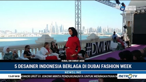 5 Desainer Indonesia Pamer Karya di Dubai Modest Fashion Week
