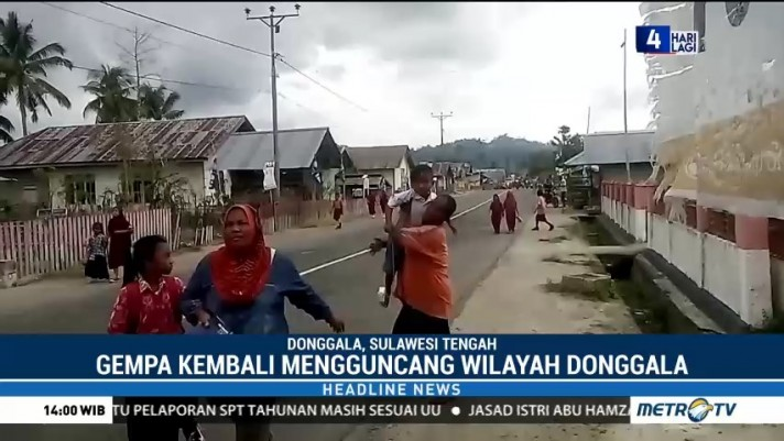 Donggala Kembali Gempa