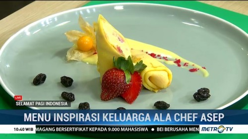 Resep Hungarian Beef Goulash dan Angel Crepes ala Chef Asep