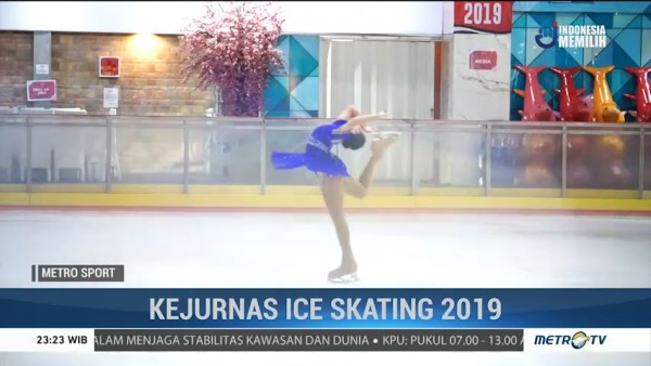 Tatap SEA Games 2019, PB FISI Gelar Kejurnas Ice Skating 2019