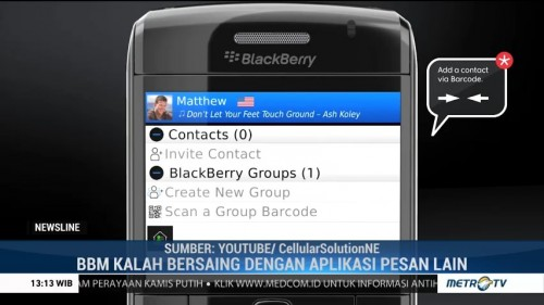 Layanan BlackBerry Messenger Tutup 31 Mei