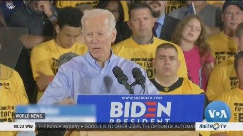 Biden Surges into Lead in Democratic Primary Race