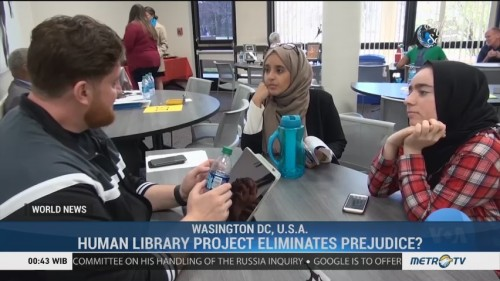 Human Library Project Eliminates Prejudice?