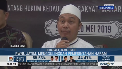 PWNU Jatim: Aksi <i>People Power</i> Haram